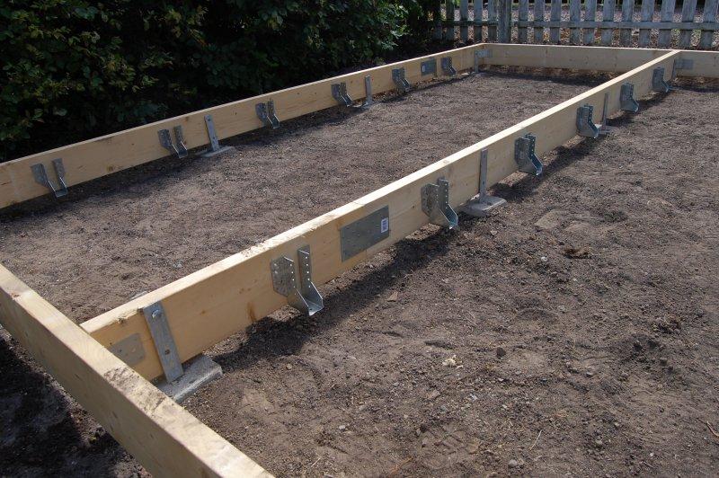 gjuta plintar vilken betong